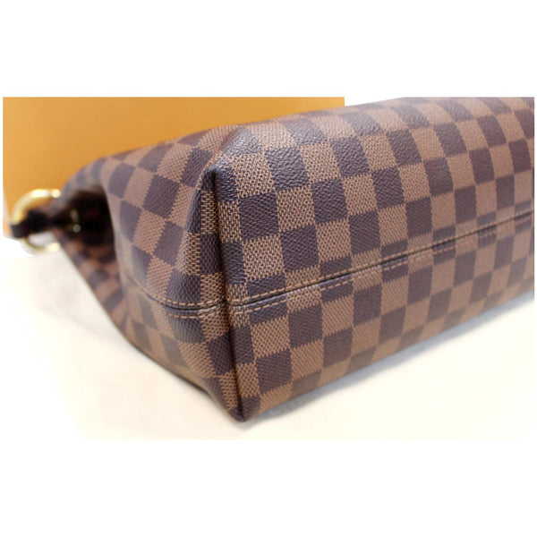 Louis Vuitton Graceful PM Damier Ebene Shoulder Bag clean exterior