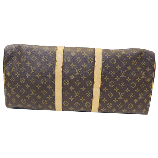 Louis Vuitton Keepall 55 Bandouliere Travel Bag - bottom view