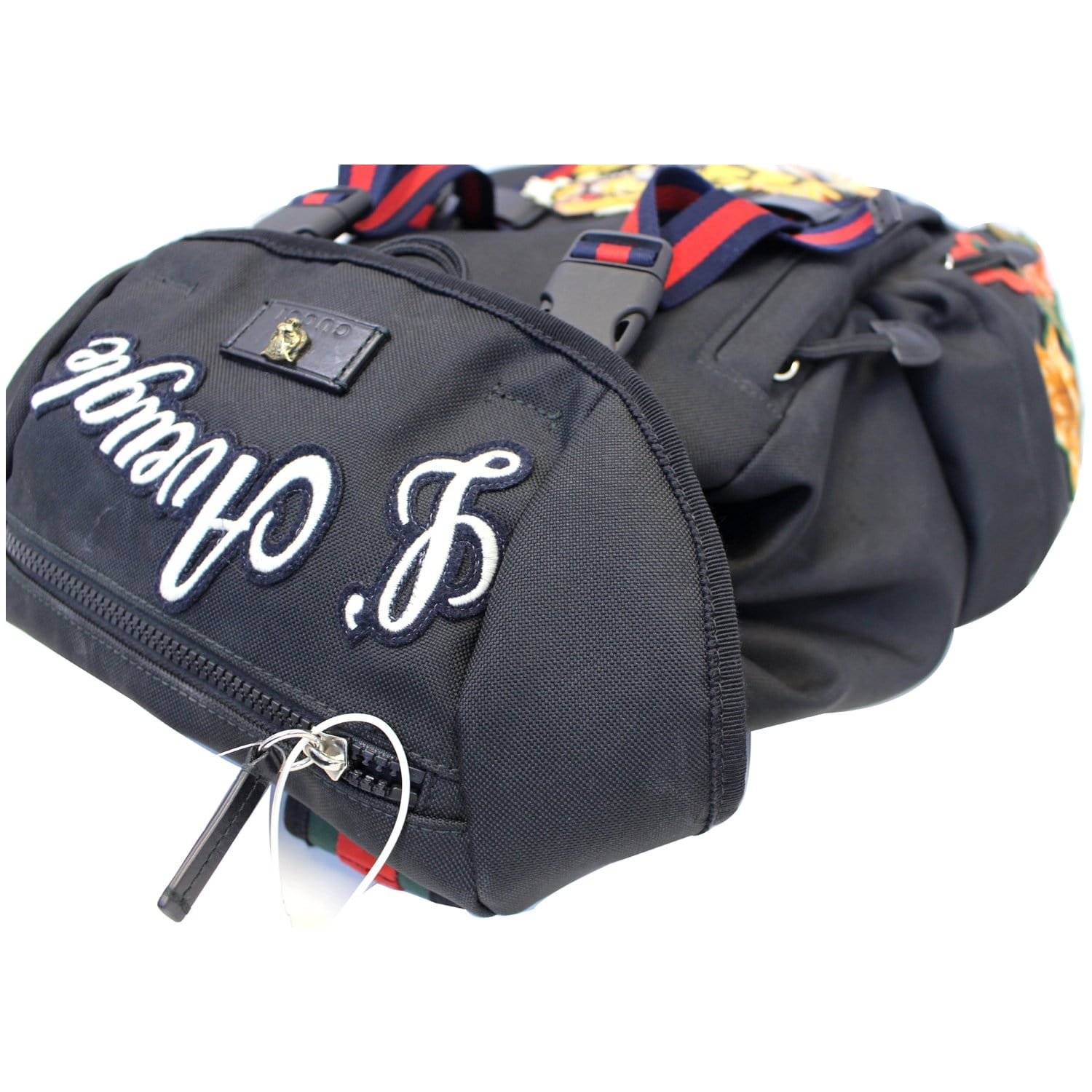 cc79d9f335e9 GUCCI Techpack Backpack with Embroidery Men's Backpack Bag 429037-US