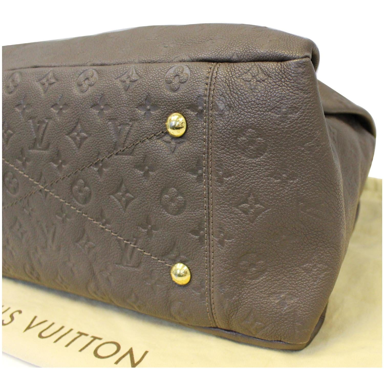 ca9daad2002a LOUIS VUITTON Artsy MM Monogram Empreinte Leather Shoulder Bag-US ...