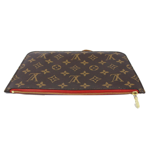 Louis Vuitton Neverfull MM Pouch Wristlet Pochette for sale