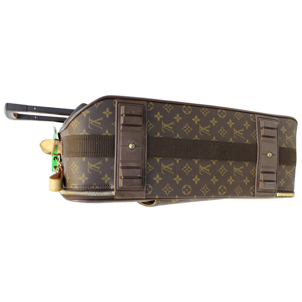 Louis Vuitton Pegase 55 Monogram Canvas Brown Bag