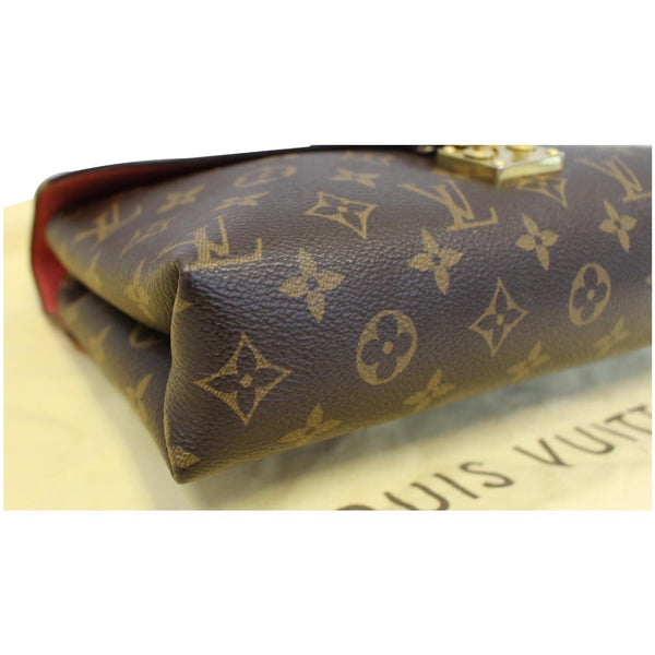 Louis Vuitton Pallas Chain Monogram Canvas Brown Bag