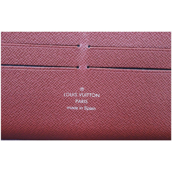 Louis Vuitton Zippy Wallet Organizer Epi Leather Red - lv logo