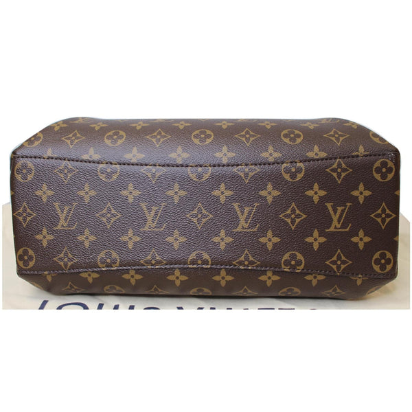 Louis Vuitton Rivoli MM Monogram Canvas bag base
