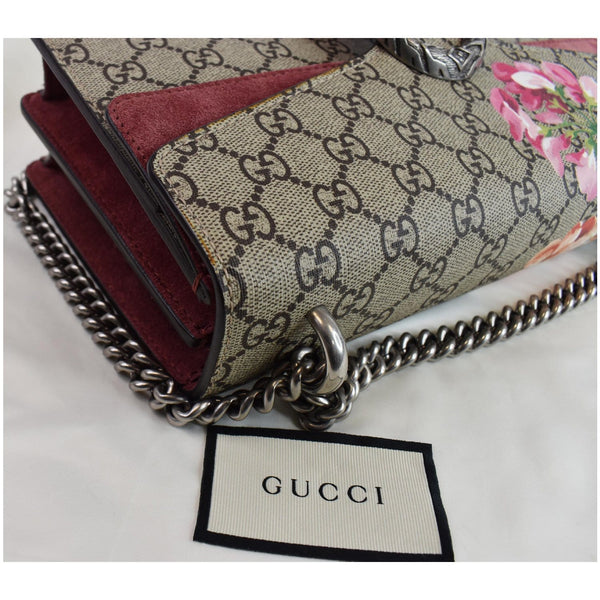 Gucci Dionysus Small GG Blooms Shoulder Bag - corner focused