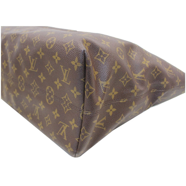 Louis Vuitton Monogram Canvas Raspail MM Bag seams
