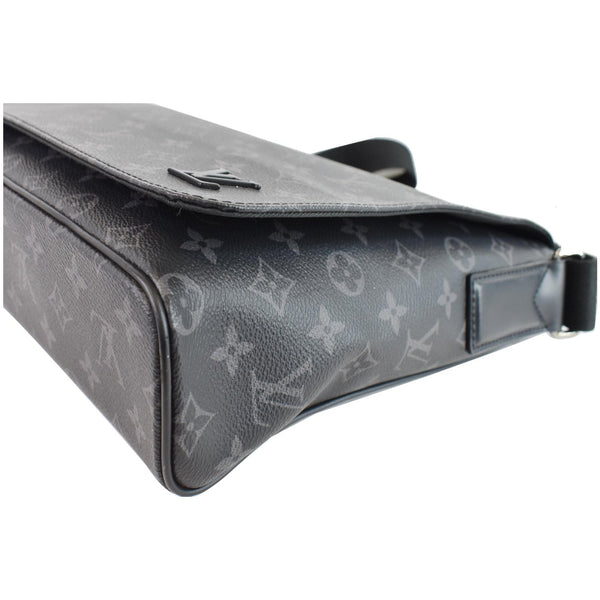 side view lv District PM Monogram Canvas Messenger Bag