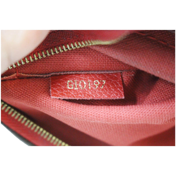 GI0197 Louis Vuitton Pallas Monogram Canvas Bag