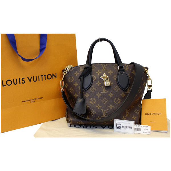 Louis Vuitton Flower Tote Zipped PM Monogram canvas Shoulder Bag