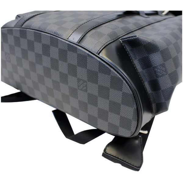 Lv Christopher PM Damier Graphite leather bag