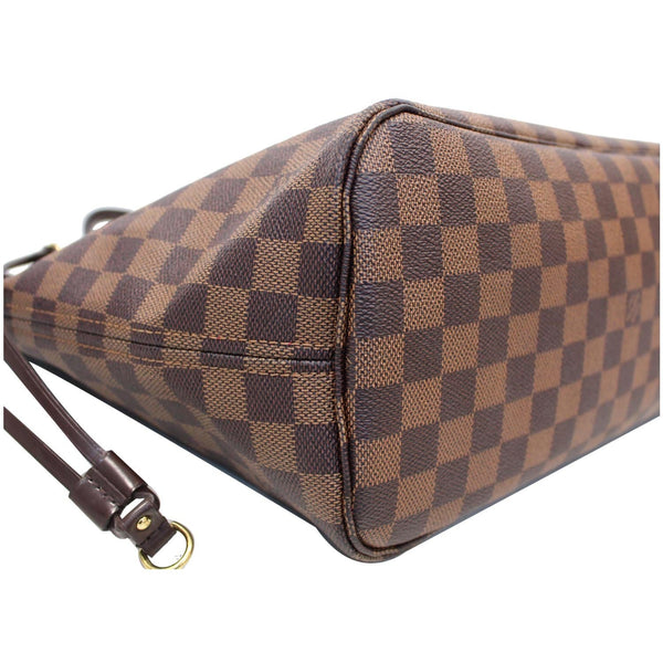 LV Neverfull MM Damier Ebene Bag Brown is 100% authentic to use