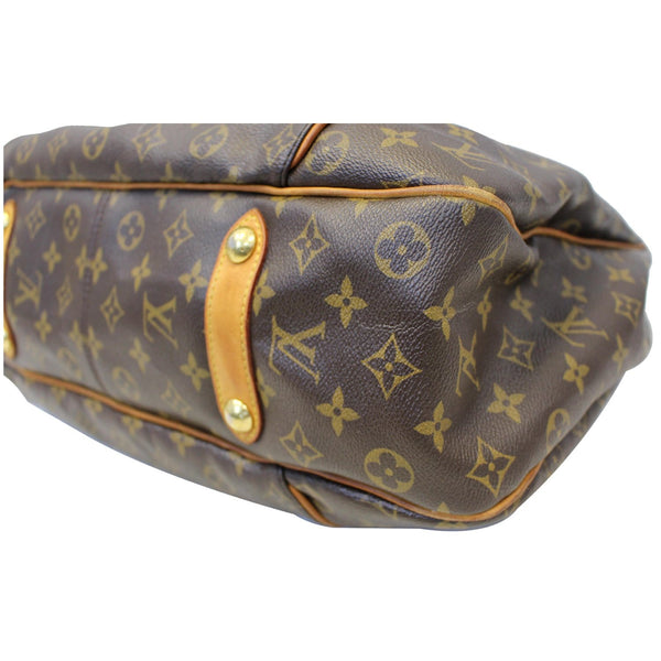 Louis Vuitton Galliera GM Shoulder Tote Bag - bottom view