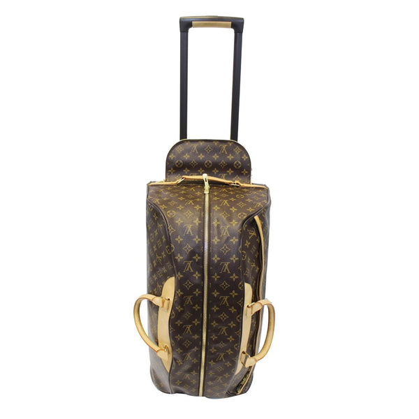 LOUIS VUITTON Eole 60 Monogram Canvas Rolling Luggage Bag Brown-US