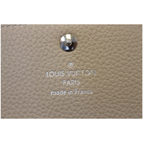 Louis Vuitton Iris - Louis Vuitton Mahina Wallet - Lv Wallet - lv logo