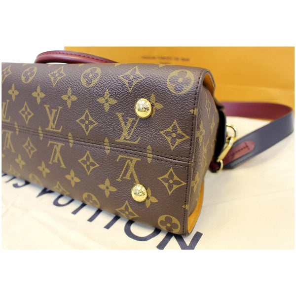 Louis Vuitton Tuileries - Lv Monogram Tote Bag - bottom view
