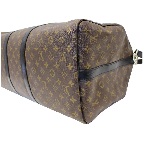 Louis Vuitton Keepall 55 Bandouliere Travel Bag - back view