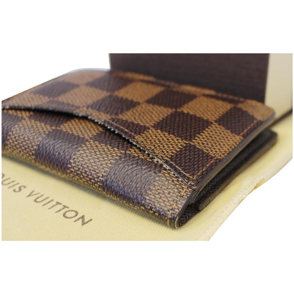 LOUIS VUITTON Pocket Organizer Damier Ebene Card Case-US