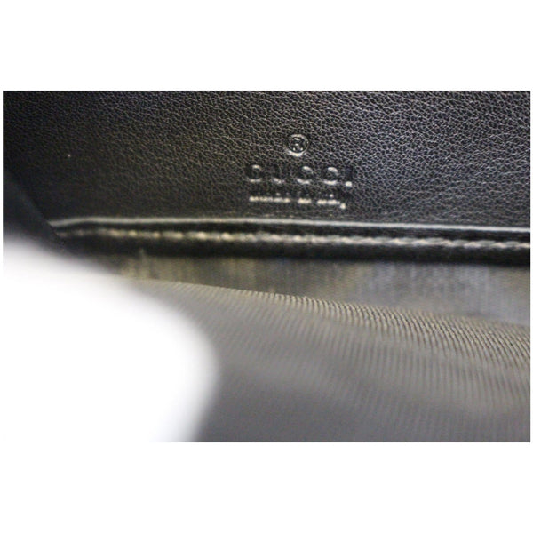 Gucci Wallet Nice Microguccissima Patent Leather - gucci logo