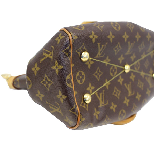 Louis Vuitton Tivoli PM Monogram Canvas bag Bottom