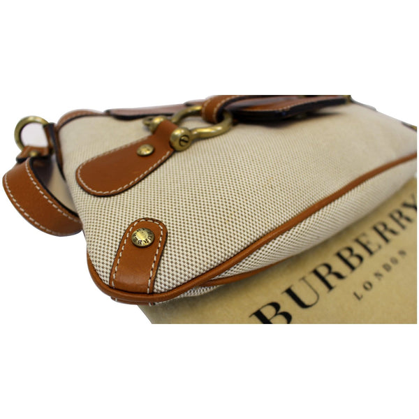 Burberry Shoulder Bag | Burberry Flap Bag Brown - right view