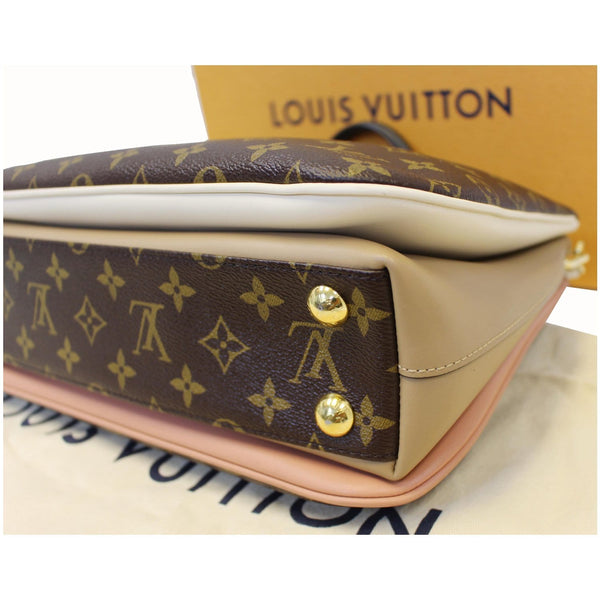 Louis Vuitton Millefeuille Brass Buttons Shoulder Bag