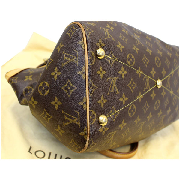 Louis Vuitton Tivoli GM Monogram Canvas Bag left seam