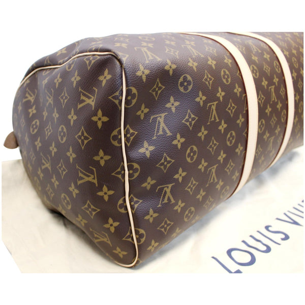 Louis Vuitton Keepall 55 Monogram Canvas Bostan Bag side view