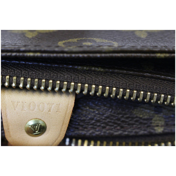 Louis Vuitton Cabas Piano - Lv Monogram Shoulder Bag - gold zip