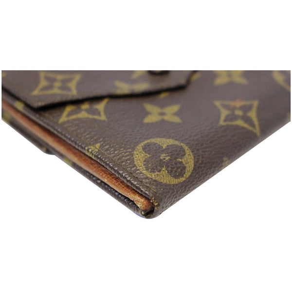 Louis Vuitton Wallet Monogram Canvas Vintage Flap - pure leather