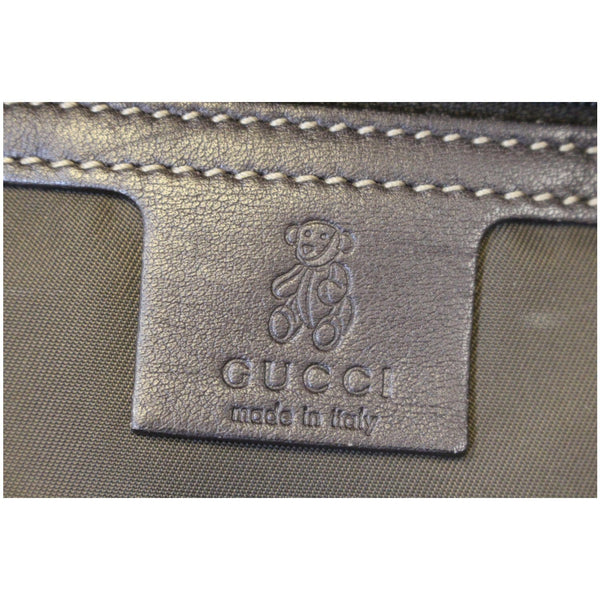 Gucci Backpack Bag GG Supreme Canvas Trolley - gucci logo