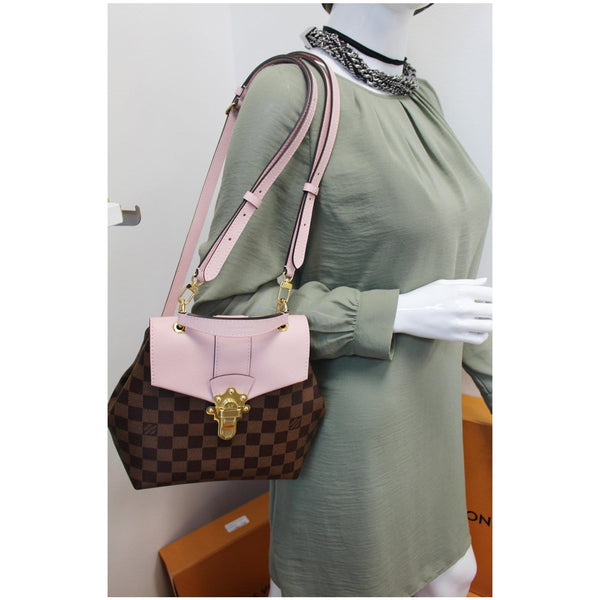 Louis Vuitton Clapton Damier Ebene Backpack Bag for women