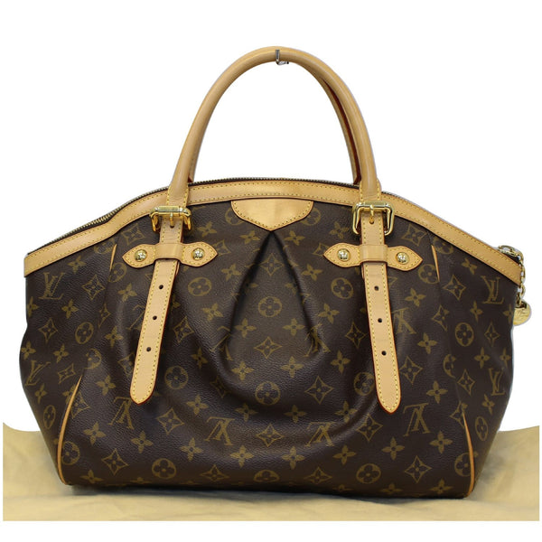 LOUIS VUITTON Tivoli GM Monogram Canvas Brown Shoulder Bag Brown