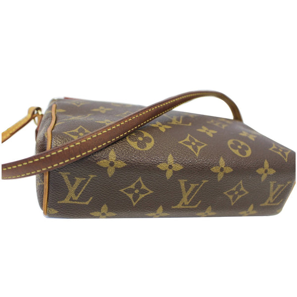 LOUIS VUITTON Recital Monogram Canvas Shoulder Handbag-US