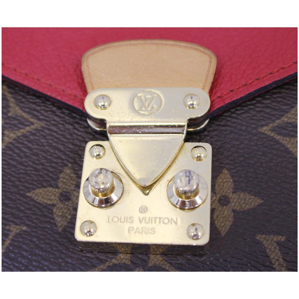 LV Pallas Chain Monogram Canvas Bag Brass hardware
