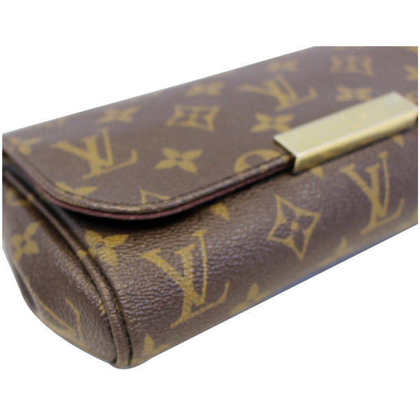 Louis Vuitton Favorite PM Monogram Canvas Bag - corner view