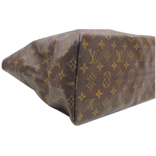 Louis Vuitton Monogram Canvas Raspail MM Bag corner