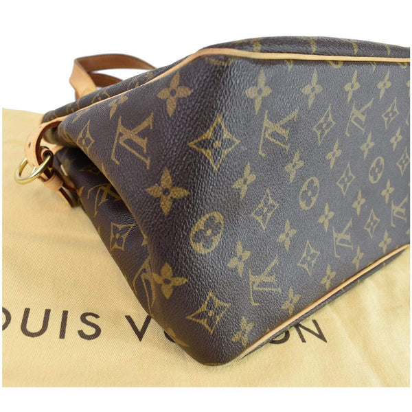 Louis Vuitton Batignolles Vertical Monogram Canvas Bag - lv logos corner