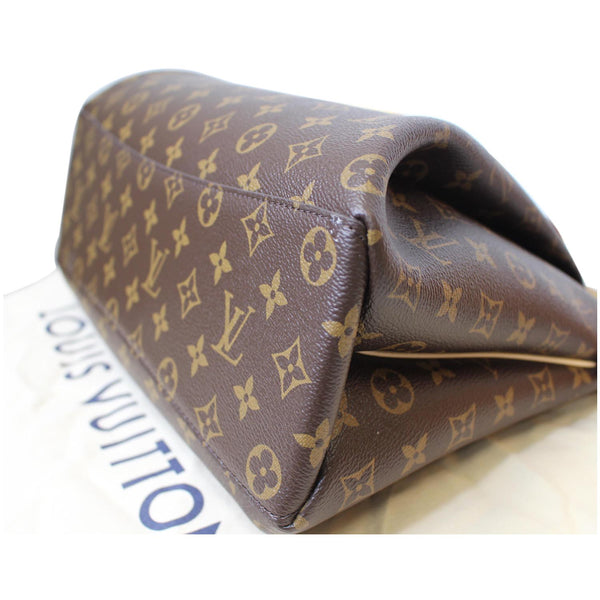 Brown LV .Rivoli MM Monogram Canvas 2Way Bag