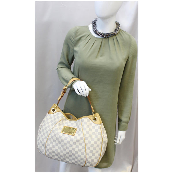 Louis Vuitton Galliera PM Damier Azur whit for women