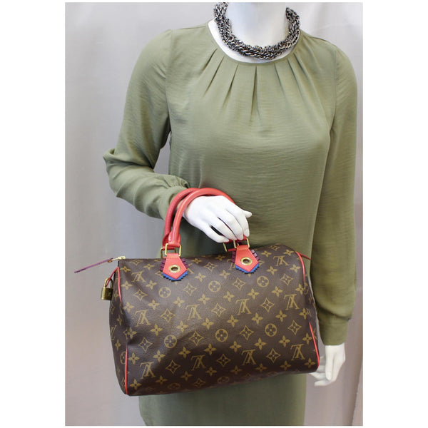 Louis Vuitton Totem Speedy 30 Monogram Canvas bag