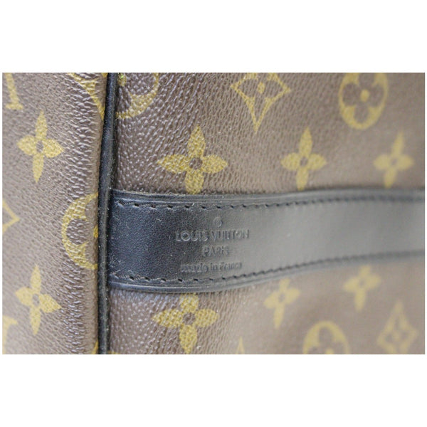 Louis Vuitton Keepall 55 Bandouliere Travel Bag - close view
