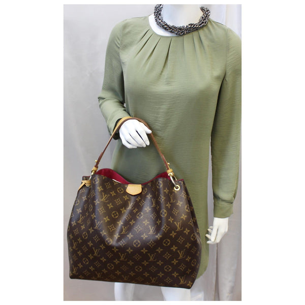 Louis Vuitton Graceful MM - Lv Monogram Canvas Shoulder Bag for women