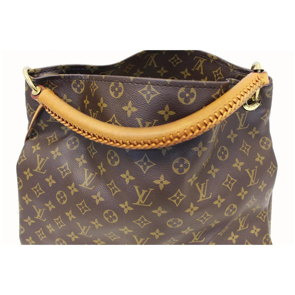 LOUIS VUITTON Artsy MM Monogram Canvas Shoulder Bag Brown-US