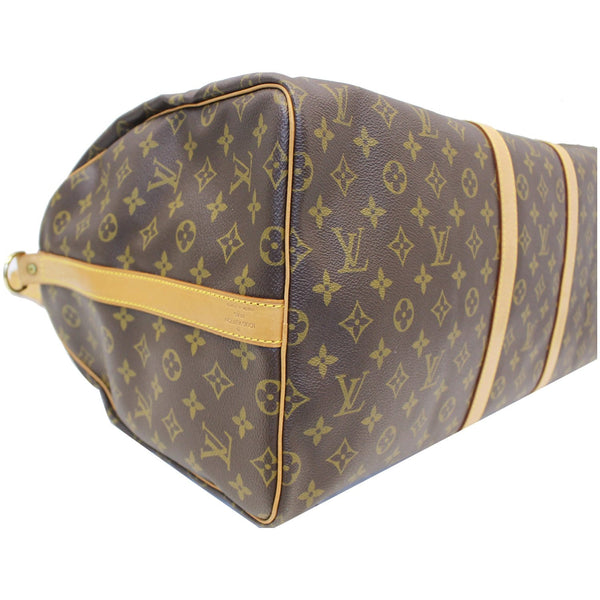 Louis Vuitton Keepall 55 Bandouliere Travel Bag - corner view