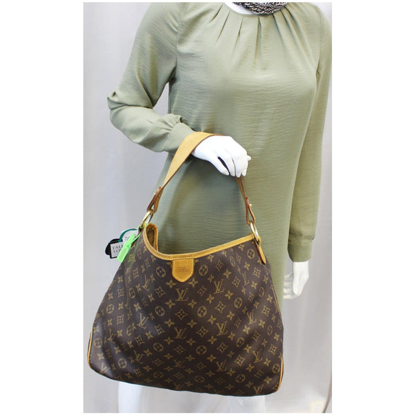 Louis Vuitton Delightful MM Monogram Tote Bag for women