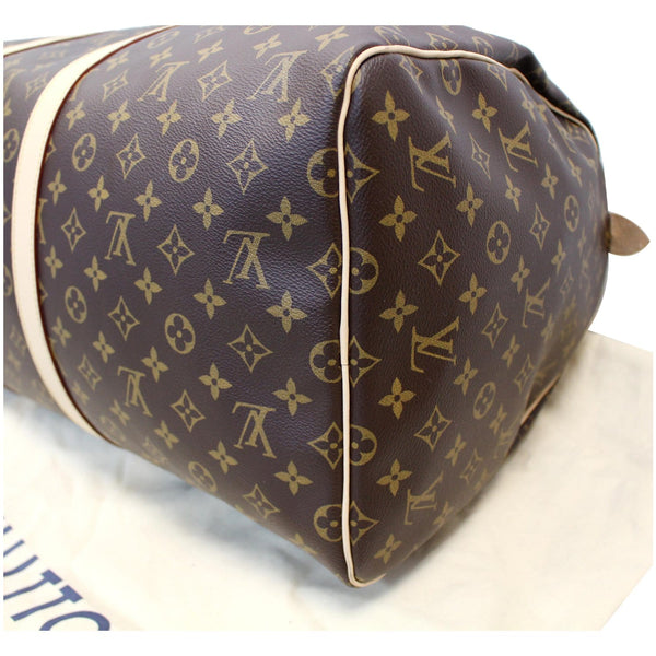 LV Keepall 55 Monogram Canvas Bostan Bag in good condition