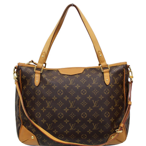 LOUIS VUITTON Estrela GM Monogram Canvas Shoulder Bag Brown