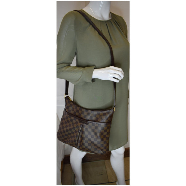 Louis Vuitton Bloomsbury PM Damier Ebene Bag Women - shoulder bag