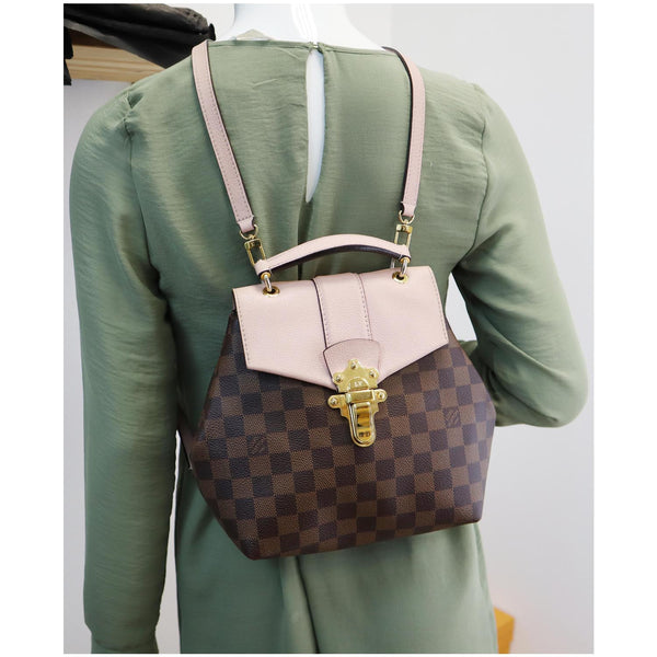 Elegant LV Clapton Damier Ebene Backpack Bag